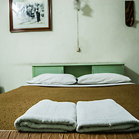 A hotel room in the city of Chiang Mai, Thailand