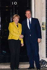 2015-01-07 German Chancellor Angela Merkel meets British PM David Cameron at Downing Street