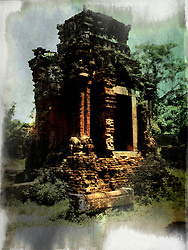 Historical Champa site of My Son, Quang Nam Province, Vietnam, Southeast Asia