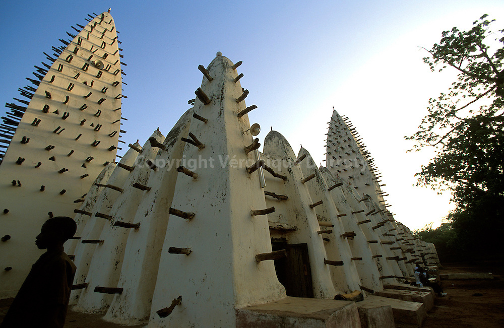 MOSQUEE DE BOBO DIOULASSO, BURKINA FASO