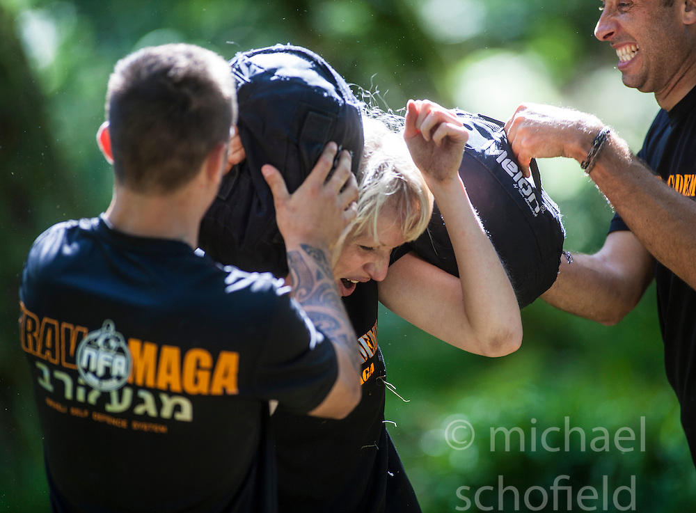 Krav Island 2013, Sunday session on Inchcailoch Island. It's a weekend Krav Maga event hosted by the Institute of Krav Maga Scotland which takes place on Saturday 24th & Sunday 25th August on and around Inchcailoch Island, Loch Lomond.