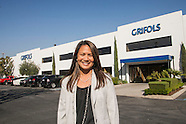 Karen Glenn, public affairs manager, of Grifols Ins.