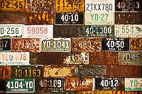 Old Colorado License Plates.