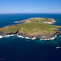 Aerial photo, Montague Island, off Narooma, NSW
