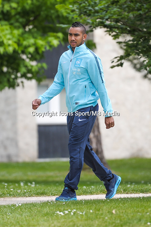 Dimitri Payet - 01.06.2015 - Entrainement - Equipe de France - Clairefontaine<br />Photo : Andre Ferreira / Icon Sport