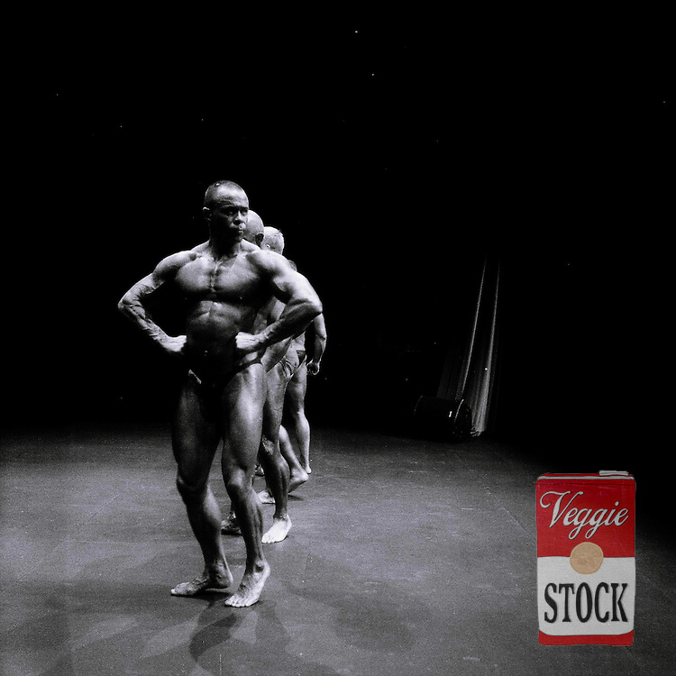 4 October 2008; Competitors go on stage at the RIBBF (Republic of Ireland Body Building Federation) National Championships held in Limerick at the Millennium Theatre, LIT, Ireland.