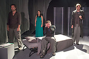 14/11/2012. London, UK. Cira Luna Theatre present the first UK staging of Stanislaw Lem's 1961 cult classic Solaris, directed by Dimitri Devdariani, at the Courtyard Theatre, London. Picture shows: