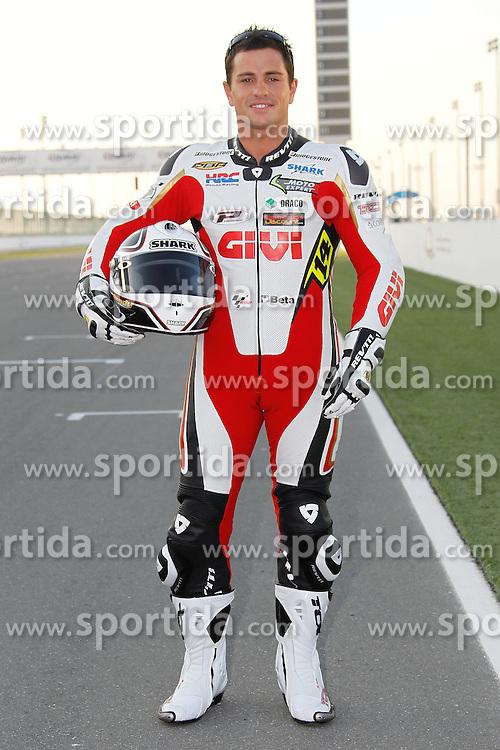 19.03.2010, Doha, Katar, QAT, MotoGP, Fahrerfotos im Bild Randy De Puniet - LCR Honda team, EXPA Pictures © 2010, PhotoCredit: EXPA/ InsideFoto/ Semedia / SPORTIDA PHOTO AGENCY