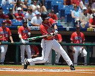 Mississippi's Tim Ferguson vs. South Carolina during the Southeastern Conference tournament at Regions Park in Hoover, Ala. on Wednesday, May 26, 2010. Ole Miss won 3-0.