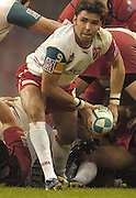 Cardiff, WALES.  Biarritz's, Dimitri Yachvili, during the  2006 Heineken Cup Final,  Millennium Stadium,  between Biarritz Olympique and Munster,  20.05.2006. © Peter Spurrier/Intersport-images.com,  / Mobile +44 [0] 7973 819 551 / email images@intersport-images.com.   [Mandatory Credit, Peter Spurier/ Intersport Images].14.05.2006   [Mandatory Credit, Peter Spurier/ Intersport Images].