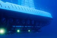 Atlantis Submarine, Stern View, Maui Hawaii