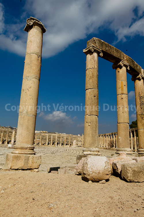 Roman Ruins of Jerash ( or Gerasa )