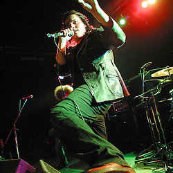 Gerard Way, My Chemical Romance, Hall For Cornwall, Truro, Cornwall, UK.30/5/04