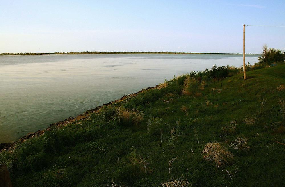 Mississippi River at Fort Jackson