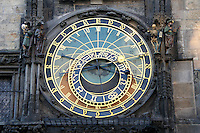 Prague Astronomical Clock (Pražský Orloj), Prague, Czech Republic