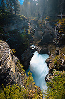 Athabasca Falls in Jasper National Park..©2010, Sean Phillips.http://www.RiverwoodPhotography.com