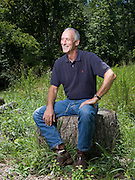 Frank Raiter, former managing director, Standard & Poor poses for a portrait at his home in Washington, VA, Monday, July 14, 2008.