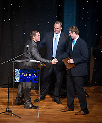 Pietrosante Award co-winners: Robby Toma and John Goodman.