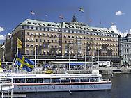 Stockholm, Grand Hotel, Sweden, Blasieholmen