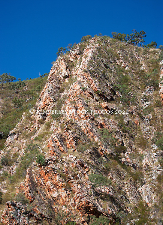 Stunning rock formations in Cyclone Creek, Talbot Bay