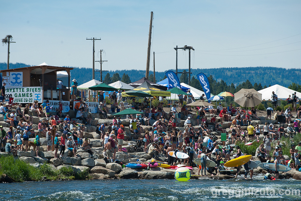 Payette River Games at Kelly's Whitewater Park in Cascade, Idaho on June 21, 2014.