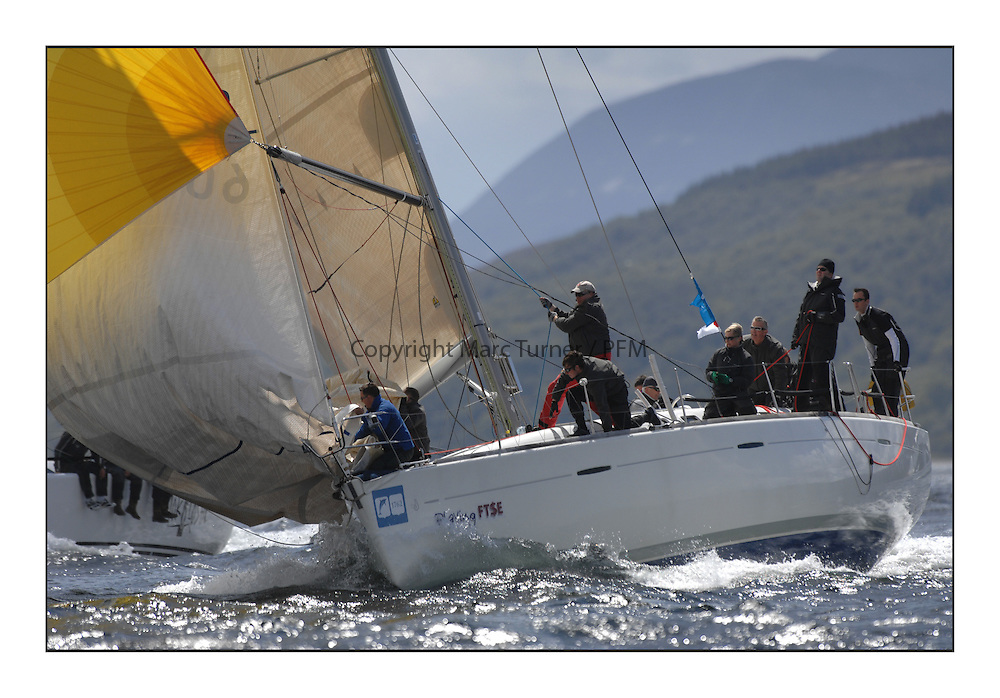 Brewin Dolphin Scottish Series 2011, Tarbert Loch Fyne - Yachting..GBR603R ,Playing FTSE ,Jonathan Anderson, CCC ,First 47.7