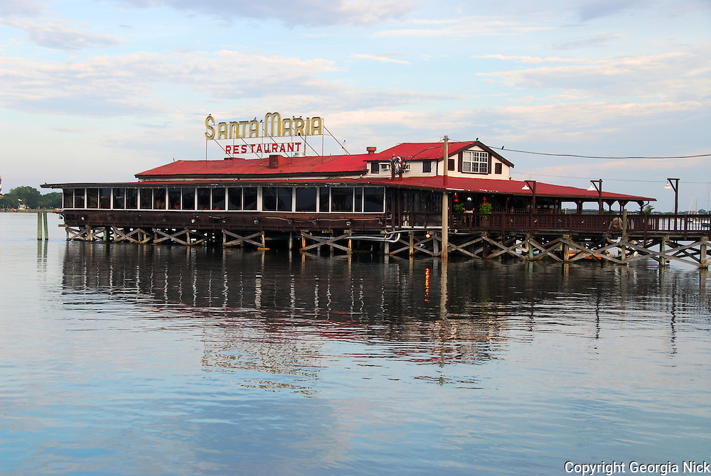 The santa maria restaurant in st augustine florida for St augustine fishing pier