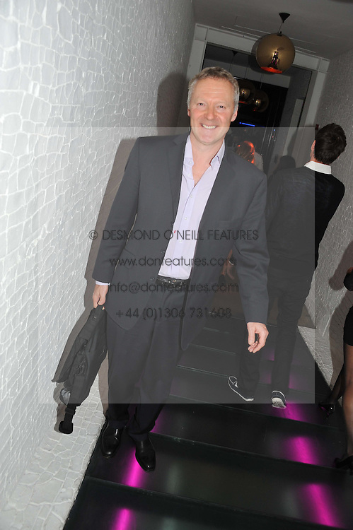 RORY BREMNER at a party to celebrate the Kelly Hoppen and Smallbone kitchen range held at The Collection, 264 Brompton Road, London on 24th September 2012.
