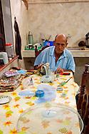 Fan repairman in Holguin, Cuba.