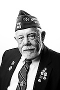 Francis Leroy Clendenen<br /> Army<br /> E-5<br /> Combat Photographer<br /> 1967-1970<br /> Vietnam<br /> <br /> Veterans Portrait Project<br /> Louisville, KY<br /> VFW Convention <br /> (Photos by Stacy L. Pearsall)