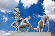 Monument in Playa Baracoa, Artemisa, Cuba.