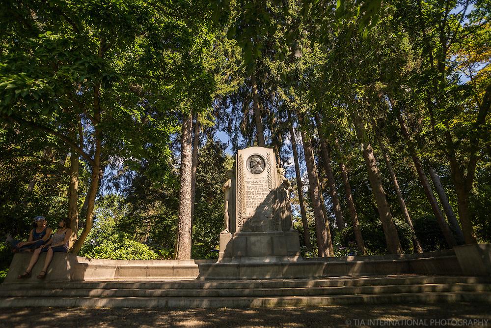 Thomas Burke Memorial, Volunteer Park