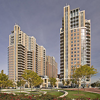 Apartment Building Mid Town Reston in VA photo by Architecture Photographer Jeffrey Sauers of Commerial Photographics
