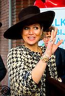 ETTEN-LEUR - Koningin Maxima tijdens haar bezoek aan zorginstelling Avoord Zorg en Wonen. Zij deed dit in het kader van de Nationale Week van Zorg en Welzijn. COPYRIGHT ROBIN UTRECHT