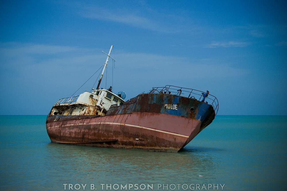 Mulde Shipwreck