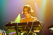 The Octopus Project performs at Blender Theater during CMJ Music Marathon in New York City on October 25, 2008.