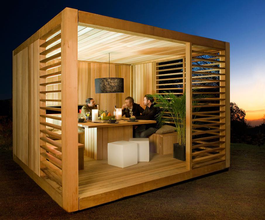 Outdoor Summer Garden Room Ecocube Ecospace Andy Spain