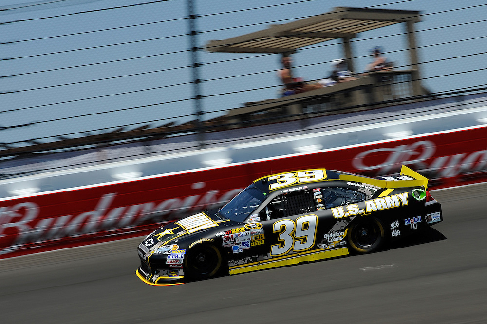 15-17 June, 2012, Brooklyn, Michigan USA.Ryan Newman.(c)2012, Scott R LePage .LAT Photo USA