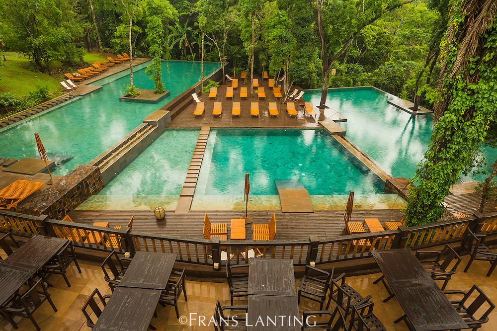 Tourist lodge Loi Suites situated in tropical forest, Puerto Iguazu, Argentina