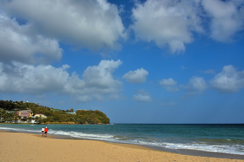 Vigie Beach Adjacent to Airport Near Castries, Saint Lucia <br />