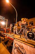 Street dance, Miles City Bucking Horse Sale, Montana, Copper Mountain Band, Jacque Jolene lead vocals