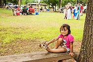 Caddo Indians, Native Americans, kids, girl, grandaughter of Caddo Nation Vice Chairman Philip Smith, J T Morrow Pow Wow, Binger Oklahoma