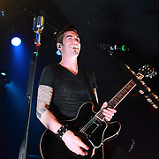 "Theory of a Deadman performs on January 22, 2012 in support of ""The Truth Is..."" at the Showbox Market, Seattle, Washington"