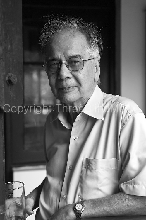 Tony Anghie. On the balcony of the Dutch Burgher Union. Colombo.
