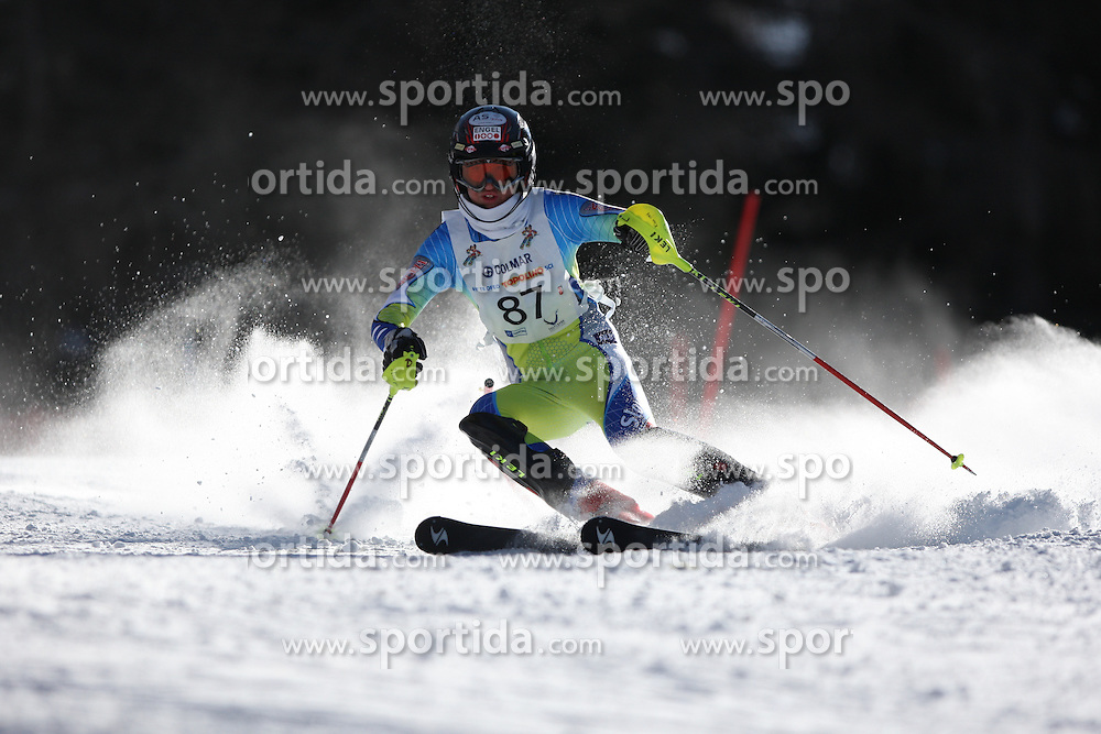 49° TROFEO TOPOLINO SCI -  INTERNATIONAL YOUTH SKI   CRITERIUM FIS - ITALY..© Pierre Teyssot / Sportida.com..Claudia SEIDL (SLO) during the first day of the Topolino on 06/03/2010 in Valsugana, Italy.
