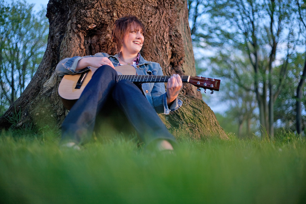 Portraits Of Singer Songwriter Musician And Guitarist