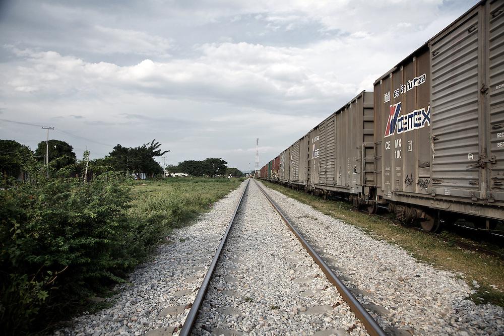 Ixtepec railway station. Oxaca-Mexico,2011