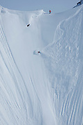 """Craig Branch on """"Chunky Mother Funker"""" at Points North Heliskiing in Cordova Alaska. MR"""