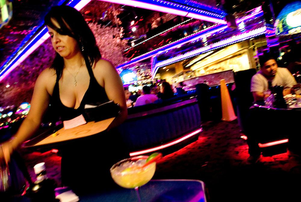 The Peppermill restaurant in Las Vegas..Photographer Chris Maluszynski /MOMENT