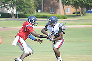 Northwest Community College football practice in Senatobia, Miss. on Monday, August 15, 2011.